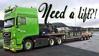 Need a lift? - Norway Trucking - Göteborg to Trondheim - William de Zeeuw