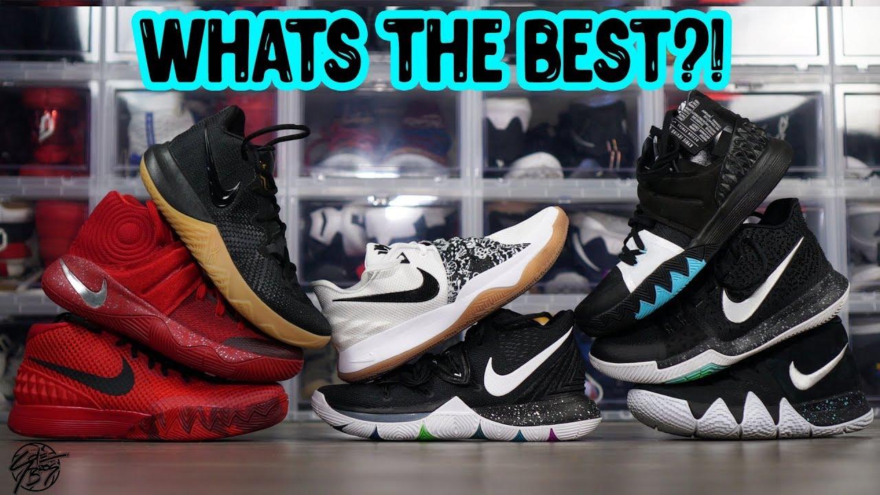 Nike Kyrie Signature Shoe Line (1-5