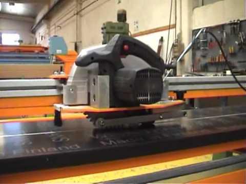 CDR Maquinaria Aluminio, Hierro y PVC - Sierra Panel SPF-30/60