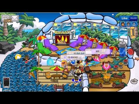 Club Penguin: Beach Party By Penguin Express