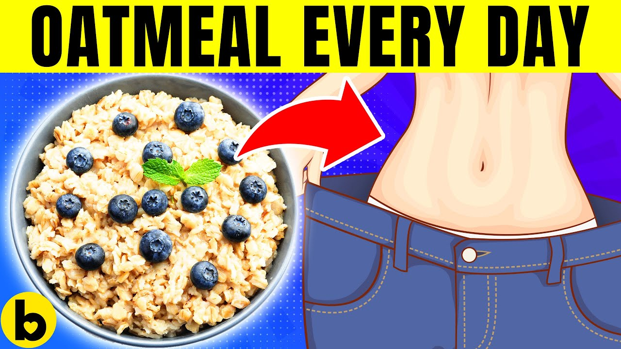 I Ate Oats for Breakfast Every Morning and This is What happened to My Body