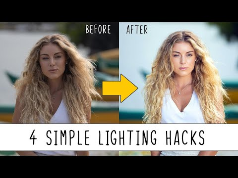 4 Simple Lighting Hacks to Improve Your Photography! thumbnail