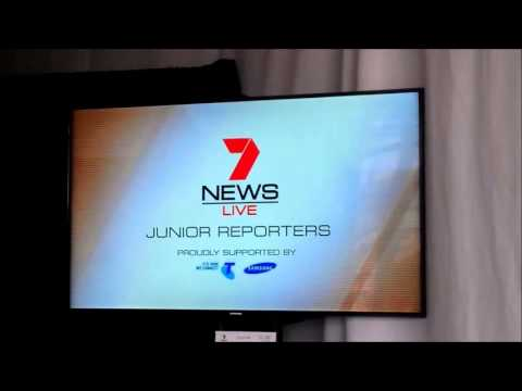 Channel Seven - '7 News LIVE Experience' at Easter Show - Yahoo!7/7 News promo loop (March 2013)