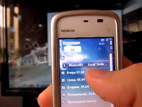 Как устанавливать темы на Nokia 5230
