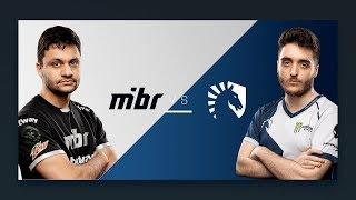 CS:GO - MIBR vs. Team Liquid [Cache] Map 1 - Semifinals - ESL Pro League Odense Finals 2018
