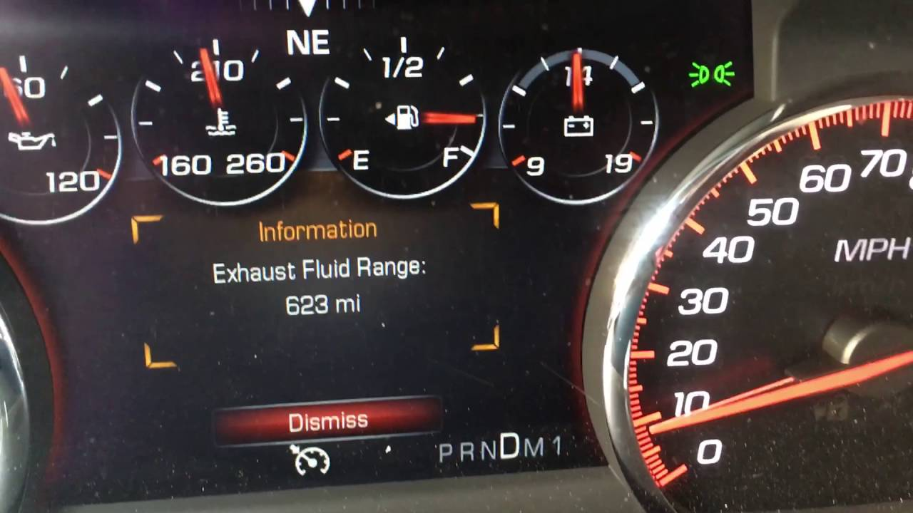 Diesel Exhaust Fluid >> 2015 GMC Sierra 3500 Denali Diesel Exhaust Fluid Issues - YouTube