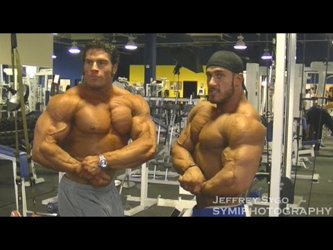 Antoine Vaillant And David Hoffman Train Day After The Arnold Amateur 2011