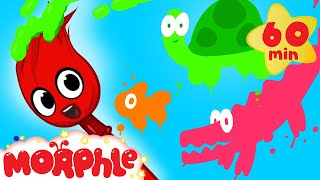 Repeat youtube video My Magic Colors - Learn Colors for kids! ( + 1 hour Shapes and Phonics and more with Morphle)