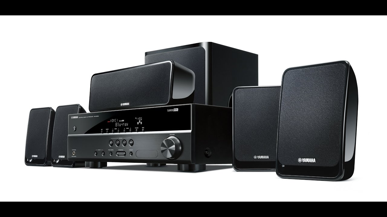 Home Cinema Yamaha Yht196 Black Unboxing Review Youtube