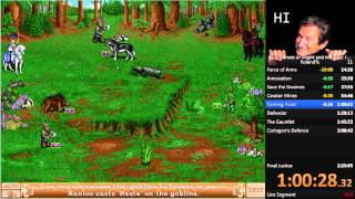 Heroes of Might and Magic II: Roland Campaign Speedrun in 1:54:57 (2015-08-08)