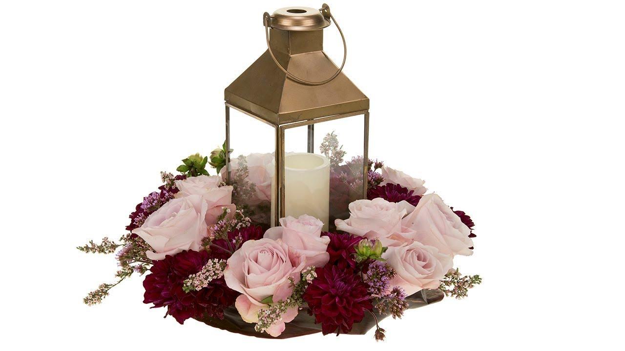 Lantern Wedding Centerpiece - YouTube