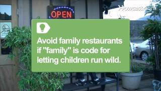 How to Eat at a Restaurant with Kids