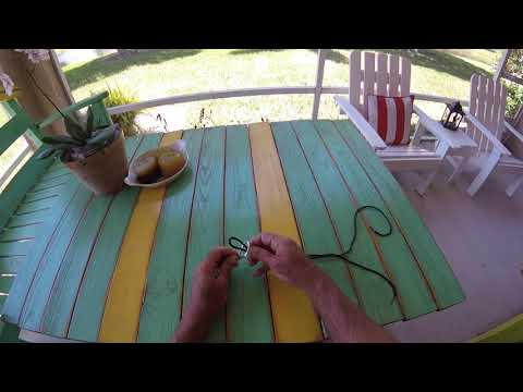 What is the best fishing knot for braid to swivels hooks lures?