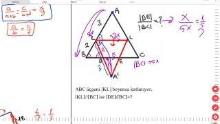 Benzerlik 4 (Thales Teoremi) (KENAN KARA)
