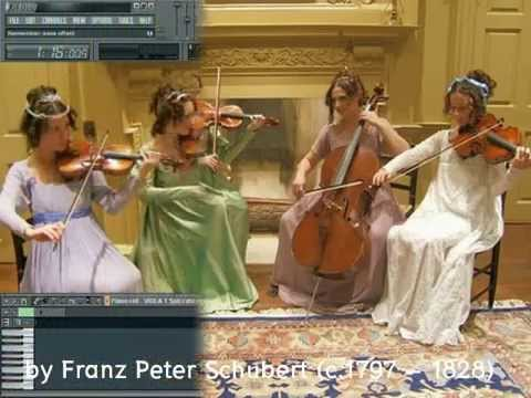 Ave Maria - String Quartet on Edirol Orchestral