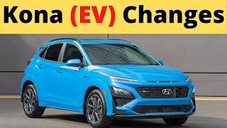 Redesigned and Updated 2022 Hyundai Kona EV Details and Changes