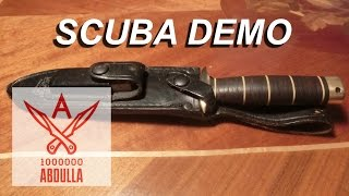 Нож SCUBA DEMO
