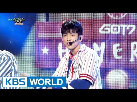 GOT7 - HOME RUN [Music Bank HOT Stage / 2016.04.15]