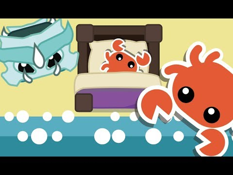 Starve.io Update: Crabs and bed