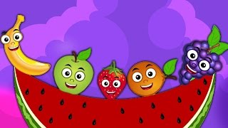 Frutas Familia Del Dedo | Rimas i para bebés | Nursery Rhymes | Kids Songs | Fruits Finger Family