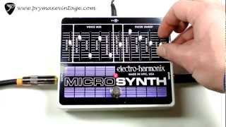 Electro-Harmonix MicroSynth Synthesizer