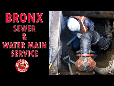 Bronx Sewer And Water Main Line Work
