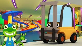 Forklift Truck Song | Gecko's Garage | Nursery Rhymes and Songs | Learning For Kids | Play Place