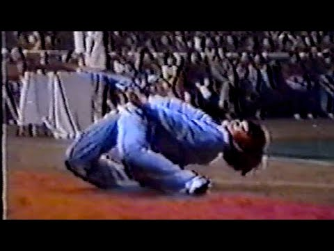 【武術】1984 男性酔剣 / 【Wushu】1984 Men Zuijian (Drunken Sword)