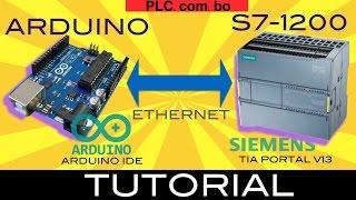Siemens S7-1200 PLC to Arduino