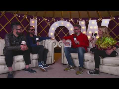 Feeder - Interview Sky Arts - Isle Of Wight Festival 2016