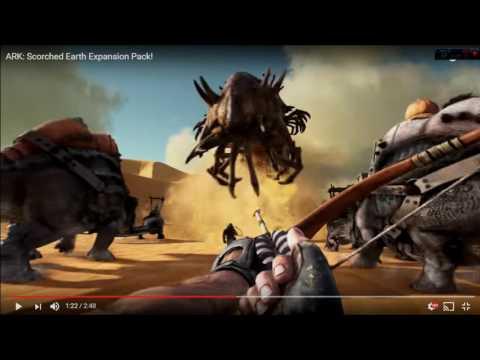 VIDEO REACCION DEL NUEVO DLC DE ARK SCORCHED EARTH