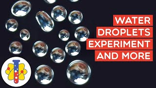 Water Droplet Science Experiment | Amazing Science Experiments | Lab 360