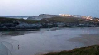 Porth Beach, Cornwall
