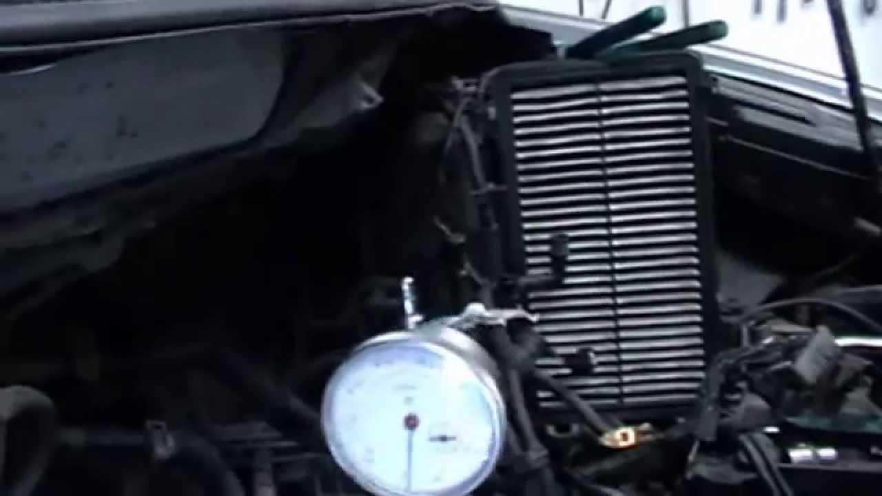 как заменить ремень грм на mazda mpv двигатель fs