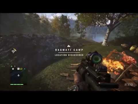 Far Cry 4 - Mask Of Yalung Location - #1 – Bagmati Camp | X:200 Y:533 (PC HD) [1080p]