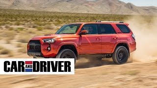 2016 toyota 4runner trd pro review in 60 seconds   car and driver
