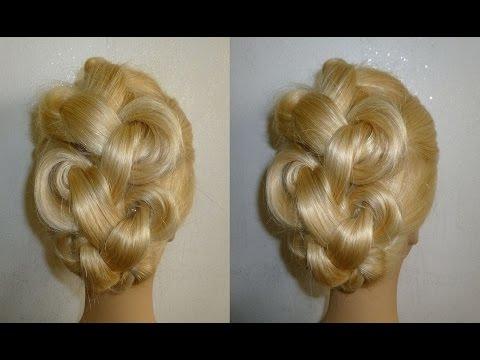 easy-frisuren:zopffrisur/flechtfrisur.hochsteckfrisur.braided-high-bun-hairstyles.peinados
