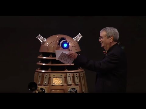 Dalek Rainier presents at the Hugo Awards
