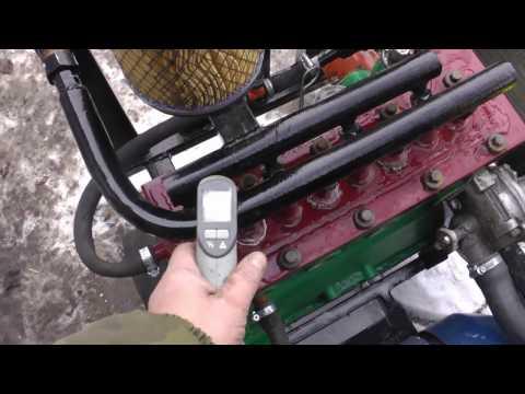 Как самому сделать компрессор с жигулевского двигателя (фильм 1й)