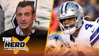 What should Cowboys do with Dak Prescott if they miss playoffs? Gottlieb discusses | NFL | THE HERD