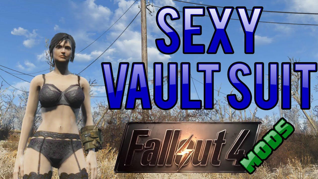 Sexy Lingerie and Vault Suits - Fallout 4 Console Mods! by Sam Mallin