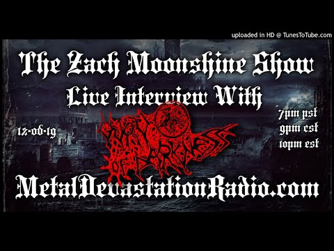 Guru Of Darkness - Ararat - Interview - 2019 - The Zach Moonshine Show