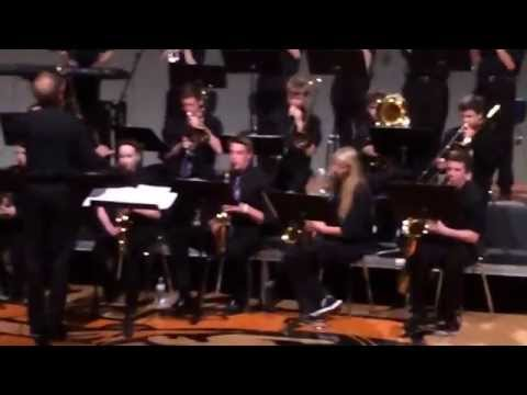 "2014 Fort Calhoun High School Jazz Band performs ""Swing Machine"""