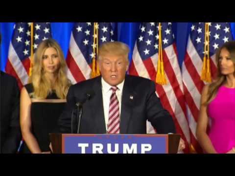 Donald Trump Primary Night Speech 6/7/2016