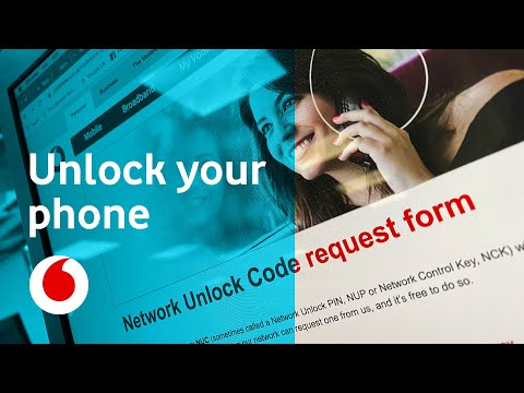 How To: Unlock My Vodafone Phone