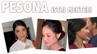 Adu Kece 3 Istri Menteri di Kabinet Jokowi-Ma'ruf
