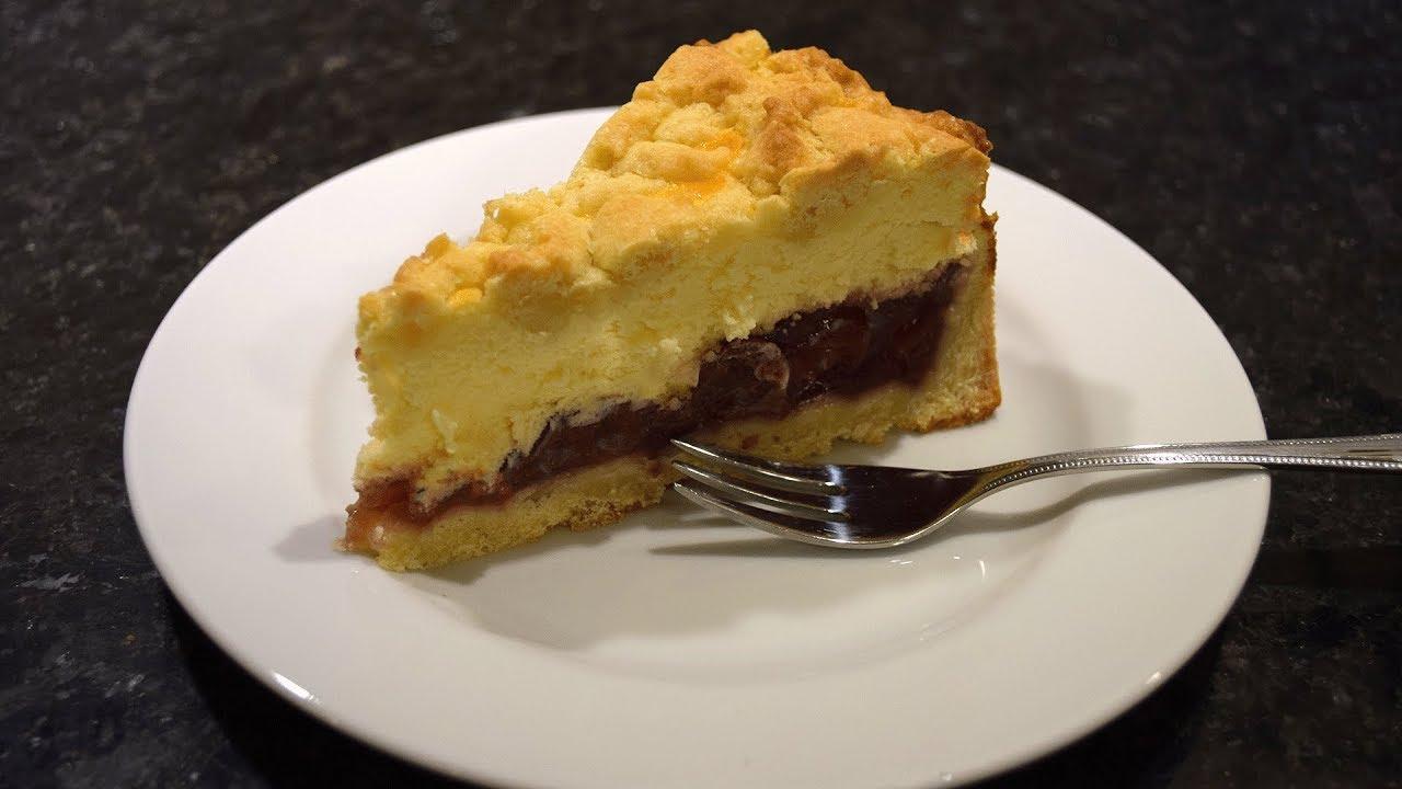 Kase Kirsch Streusel Kuchen Youtube