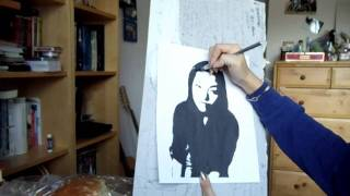 How to do Basic Stencil Art