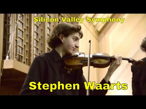 Polonaise Brillante No. 1 in D Major by Henri Wieniawski with Stephen Waarts