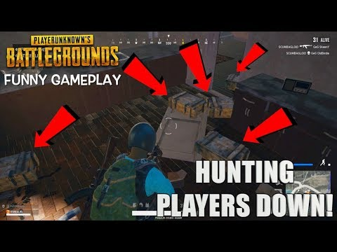 "HUNTING PEOPLE DOWN! ( FUNNY ""PUBG"" GAMEPLAY WITH ITSREAL85 AND PU55NBOOT5!)"
